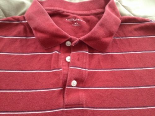 Croft /& Barrow Mens Size LT Tall Long Sleeve Polo Shirt Soft Cotton//Poly NEW $40