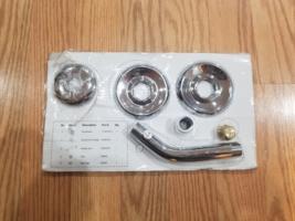 Glacier Bay Aragon Shower Faucet Mounting Kit, Chrome - $17.50