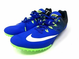 Nike Track Sprint Spikes Zoom Rival S Blue Black (806554-413) Men size 13 - $27.71