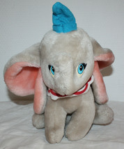 Vintage 90's Disney Dumbo Plush Nestlé France Promotionnal Item 10 inche... - $14.99