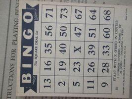 Vintage Bingo Game in Box, J. Pressman Co., New York image 8
