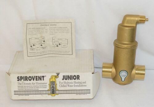 Spirotherm VJS125TM Spirovent Junior Air Eliminator One And Quarter Inch Sweat