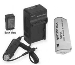 Battery +Charger for Canon NB-9L NB9L SD4500 IS IXY 50S - $24.22