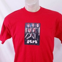 Vintage 199 Devo T Shirt 90s Punk Rock Tour Concert Band Cure Clash Tee ... - $59.99