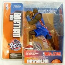 McFarlane's Sportpicks NBA Series 5 - Ben Wallace Detroit Pistons Blue U... - $19.79