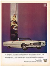 Vintage 1969 Magazine Ad Cadillac DeVille Convertible is Beautiful & Spirited - $5.93