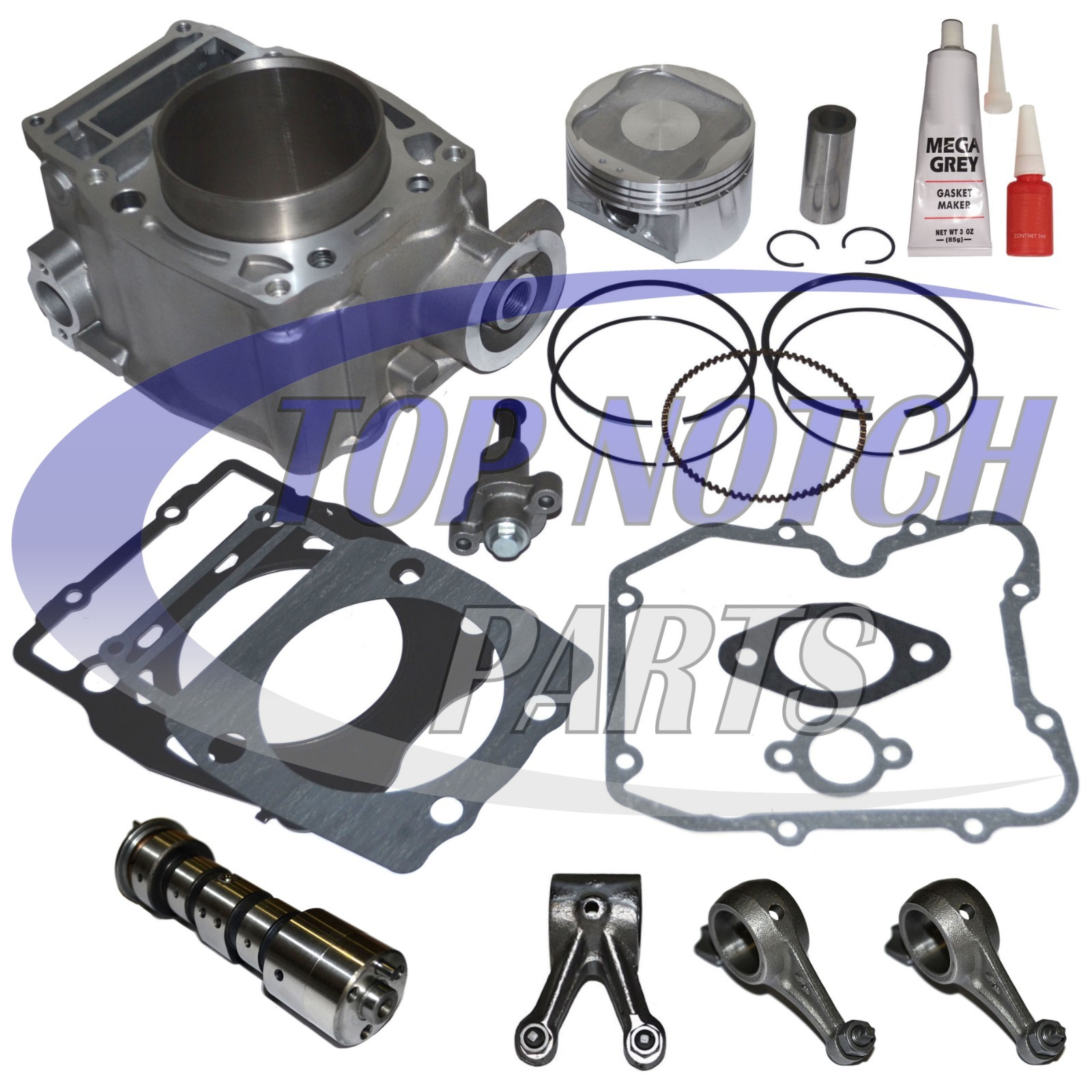 Polaris Xplorer 500 2x4 4x4 Camshaft Rocker Arm Gear GASKET Kit Set 1997 97