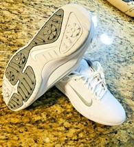 NIKE Vapor Golf Shoes Men's AQ2302-100 - Size 9 White & Gray #brand #new... - $39.48