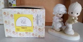 FIGURINE Precious Moments NEW NIB Sew In Love 106844 1987 Enesco - $7.92