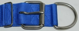 Valhoma 760 S26 BL Spike Dog Collar Blue Double Layer Nylon 26 inches Pkg 1 image 2