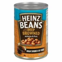 12 HEINZ Deep-Browned Beans with Pork & Molasses 398ml/14oz Canada FRESH  - $49.25