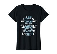 Brother Shirts - Motorcycle Retirement Plan To Ride It T-Shirt Rider Biker Wowen image 2