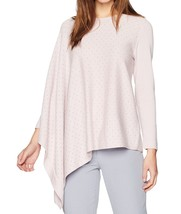 Anne Klein Women's Lilac Embellished Asymmetrical Sleeve Poncho Sweater ... - $13.85+