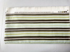 Striped Upholstery Fabric Gibson Stripe Laurie Smith Stain Soil Repellan... - $24.74