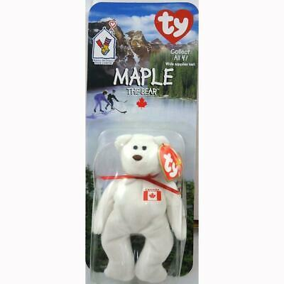 Primary image for Maple the Canadian Bear McDonalds Ty Teenie Beanies 1999 International Bear NMIP