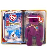 1 X TY McDonald's Teenie Beanie - MILLENNIUM the Bear (2000 - 1st Day) - $742.50