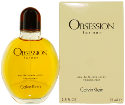 Calvin Klein OBSESSION EDT  for Men Spray 2.5 oz - $27.13