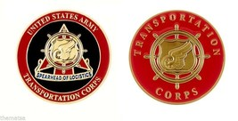 "ARMY TRANSPORTATION CORPS SPEARHEAD OF LOGISTICS 1.75"" CHALLENGE COIN - $16.24"