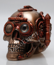 Steampunk Skull with Secret Drawer Trinket Box  * * * Free Shipping Ever... - $107.91