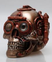Steampunk Skull with Secret Drawer Trinket Box  * * * Free Shipping Everywhere * - $107.91