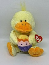 Easter Ty Pluffies Plush - Quackies the Duck (RETIRED) NEW! - $14.95