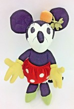 "Minnie Mouse Pie Eyed Plush Green Shoes Flower 18"" Large Disney Store Ex... - $9.74"