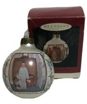 Hallmark Keepsake Christmas Ornament 1994 Norman Rockwell Art Bottom Drawer - $9.80