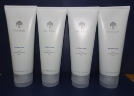 Four pack: Nu Skin Nuskin Enhancer Skin Conditioning Gel 100ml 3.4oz Sealed x4 - $60.00
