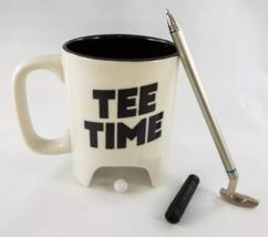 NPW Golf Mug Gift Set Tee Time Cup Club Pen Ball Coffee Tea Gift image 2