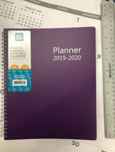 Pen+Gear Oct 2019-Dec 2020 Weekly Monthly Planner Calendar Purple 10 x 8 - $25.73