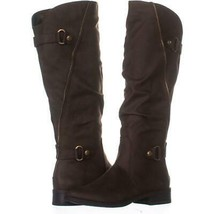 White Mountain Leto Slouch Knee High Boots 778, Coffee, 5.5 US - €27,49 EUR