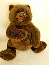 "Folktails Folkmanis 20"" Brown Bear Full Body Hand Puppet Plush Stuffed Animal - $39.57"