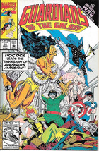 Guardians of the Galaxy Comic Book #28 Marvel Comics 1992 FINE- - $1.99