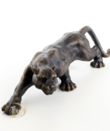 Iron Sculpture shows the Panther signed antique home decor  *Free Shipping - $149.00