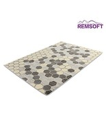 Contemporary Style Simple Design Bee Nest Pattern Rugs - $129.00