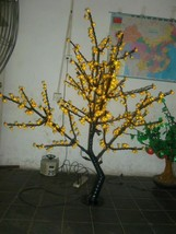5 Ft 480 pcs Yellow Light LED Cherry Blossom Tree Wedding Holiday party decor  - $359.00