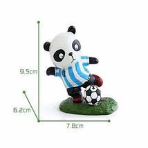 Panda Playing Football Mini Panda Puppet Home Decoration Kids' Gift(Arge... - $27.67