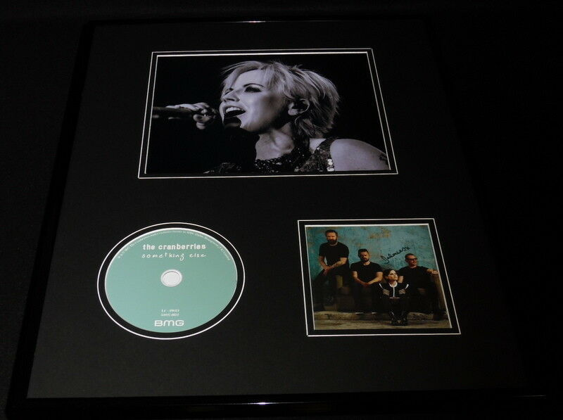 Primary image for Dolores O'Riordan Signed Framed 16x20 Cranberries CD & Photo Display JSA