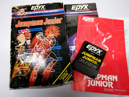 "Atari Computer 400 600 800 1200/XL Game ""Jumpman Junior""  By Epyx ""Open Box"" - $26.00"