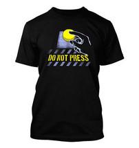 Do Not Press #366 - Men's T-Shirt - Funny Humor Comedy Button Dont Bad Attitude - $24.99