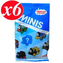 Thomas & Friends - Minis - Blind Single x 6 Mystery Bags - DFJ15 - New - $14.67