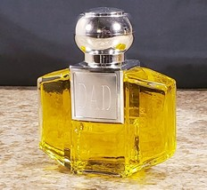Avon Signet 3.5 OZ Dad After Shave Splash Decorative Glass Bottle - $29.08