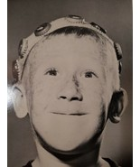"""VINTAGE DAYDREAMING HAPPY YOUNG BOY LARGE STOCK PHOTO ON CARDSTOCK 8.5""""X11"""" - $14.99"""