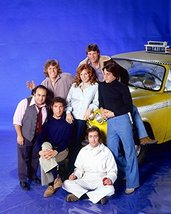 Taxi Danny Devito Marilu Henner Judd Hirsch Any Kaufman Jeff Conaway with cab - $69.99