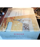 Singer Touch & Sew 600 Models Attachments In Box + - $25.00