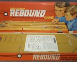 Vintage 1973 Mint in Original Box Ideal Toys 2-Cushion Rebound Game USA Complete