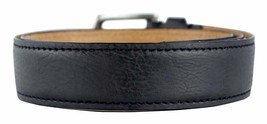 BRAND NEW LEVI'S MEN'S PREMIUM CLASSIC GENUINE LEATHER BELT BLACK 11LV02US image 2