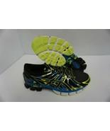 Asics men's running shoes gel sendai 2 black onyx flash yellow size 10 us - $168.25