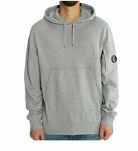 C.P.Company Men's Diagonal Fleece Goggle Pullover NEW AUTHENTIC Grey 08C... - $149.99