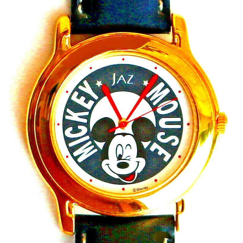 Primary image for Mickey Seiko Jaz Mans Disney Collectable Unworn Watch Silver Tone Rare Find! $99